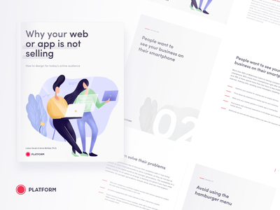 eBook: Why your web or app is not selling ux interface ui design millennials app website ebook