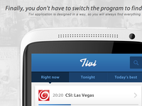 Case Study for Tivi mobile app