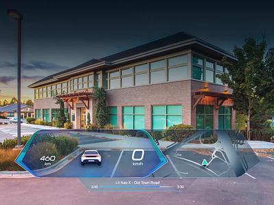 The Future of AR In Cars - Automatic Adaptation automotive industry design ui ux case study automotive cars car dashboard windshield future futurism autonomous car animation car interface ar augmentedreality