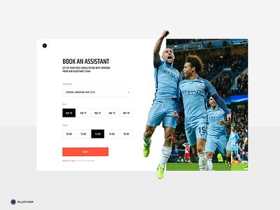 Sponsor.Online footballer website interface ux ui design football club sponsorship sponsor soccer platform football