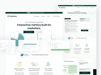 Data Stacks Quick peek typography ui design website brand dashboard logo webflow landing page branding