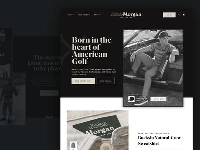 John Morgan Golf for Engine Commerce