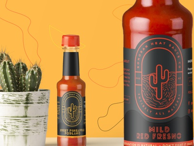 Hot Sauce Web and Branding Project