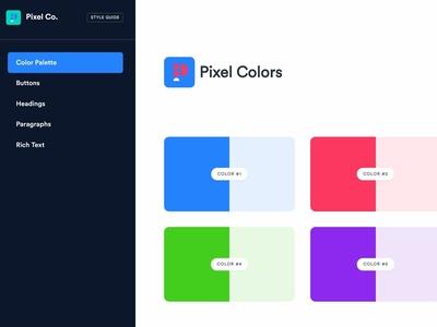 Pixel Co. Brand 2019 - Colors