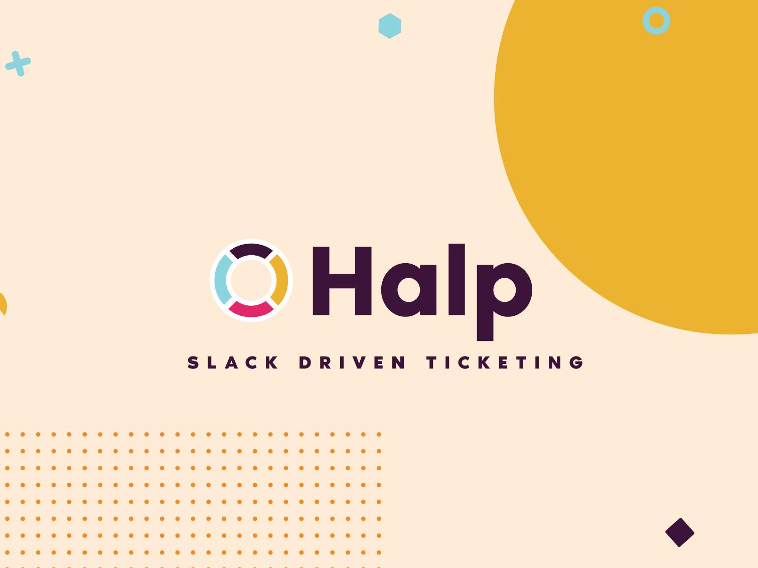 Halpbrand5 slack app slack products product design brand concept logo branding