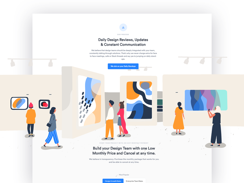 How Too Section and Pricing landing page about page illustraton website illustration illustrated page illustration artwork pricing tables pricing section about section how too