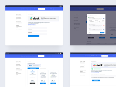 Intrack Account Pages signin account account pages dashboard app dashboard ui webflow design webflow dashboard design ux website ui webflow dashboard