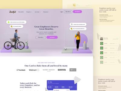 Zestful Sandbox Design - Hero / Landers