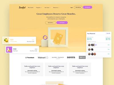 Zestful Sandbox Design - Inner Page brand webflow illustration ui 3d animation 3d artist inner page design landing page branding 3d art 3d page ed page 3d