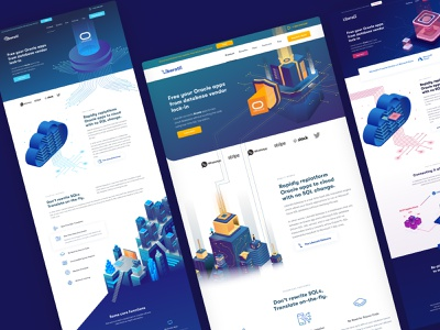 Liberatii Early Concept & Homepage ux illustration design brand branding animation dashboard webflow ui landing page website