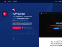 WP Builder Website Homepage