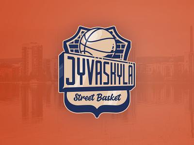 Street Basket Logo basketball basketball logo logo design logodesign