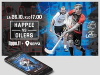 Sports Graphics for social media and screens