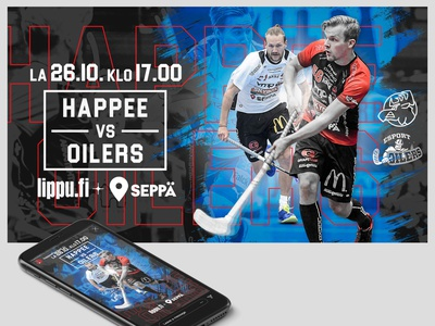 Sports Graphics for social media and screens graphic  design innebandy sports design sport social media graphics floorball finland