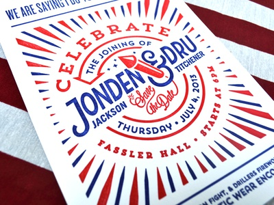 07.04.2013 invites letterpress wedding wedding invites july 04th independence day forefathers