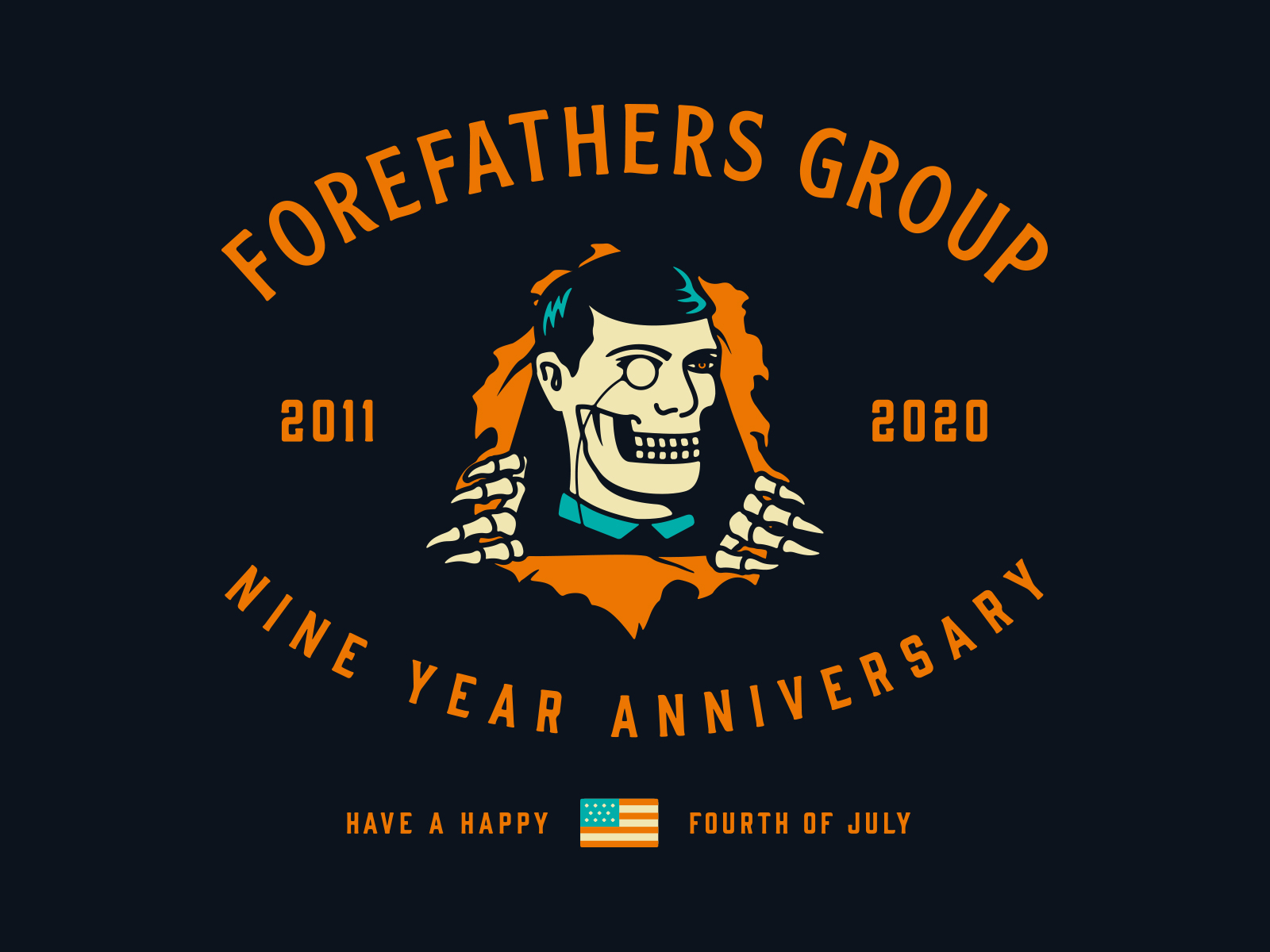 Forefathers 9 Year Anniversary By The Forefathers Group On Dribbble