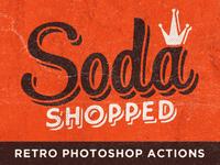 Soda Shopped Retro Photoshop Actions