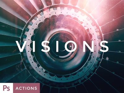 VISIONS Actions and Texture Set Vol. 3 actions photoshop actions presets photography photo effects action sets textures forefathers visions filters