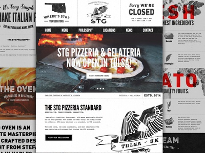 STG Pizzeria Launched! website launch pizza pizzeria tulsa oklahoma forefathers