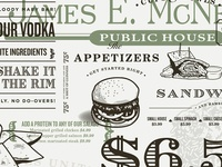 McNellie's Irish Pub Menu
