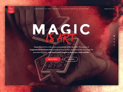 Resolution 642 Concept congress bright grunge forefathers art theory11 magic microsite homepage