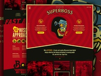 SUPERBOSS Website Design