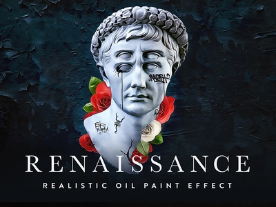 RENAISSANCE - Realistic Oil Paint Effect