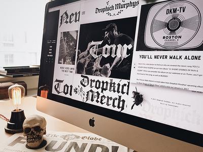 Dropkick Murphys Website