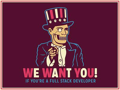WE'RE HIRING!!! agency remote team development freelance full stack developer developer jobs job now hiring hiring