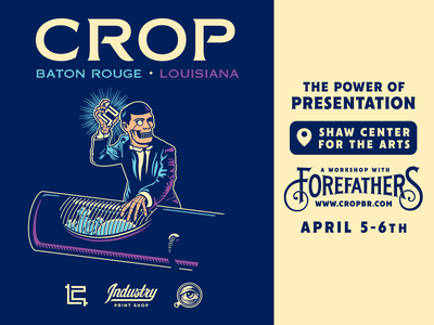 FOREFATHERS WORKSHOP / CROP 2018 the power of presentation growcase crop baton rouge louisiana conference megadeth louie beans workshop the forefathers group rust in peace polaris pig