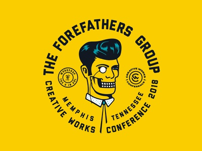 Forefathers going to Creative Works, Memphis. creative works workshop louie beans elvis conference growcase forefathers