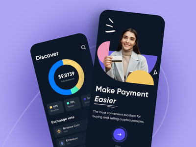 Crypton - Mobile app analisis dashboard concept finance control money figma money application bank app finch statistics charts graph ux converter cryptocurrency ui payment arounda mobile app