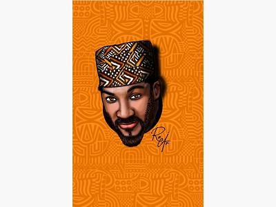 African man patterns african man print african