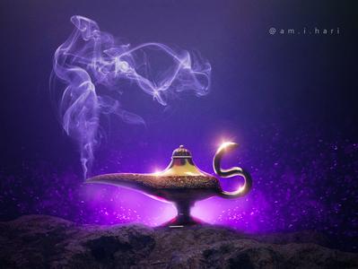 Aladdin Lamp Modeling | Blender 3D