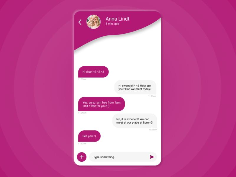 Direct Messaging - DailyUI #013