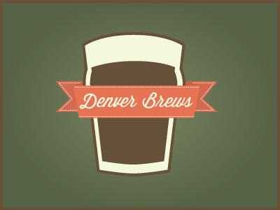 Denver Brews beer ribbon