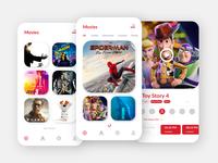 TGV Cinema App Concept