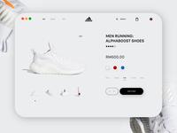 007 - Adidas Website Concept