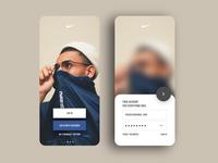 011 - Nike App Login Concept