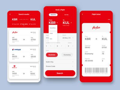 012 - Flight Booking Concept
