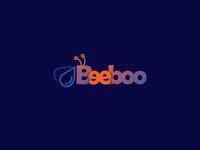 Beeboo gradient logo design