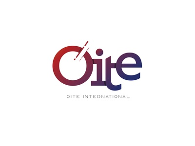 Oite International gradient logo design