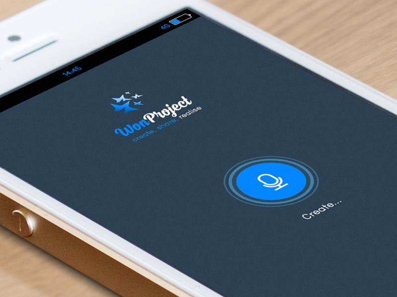 Won Project app design logo ux concept application ui