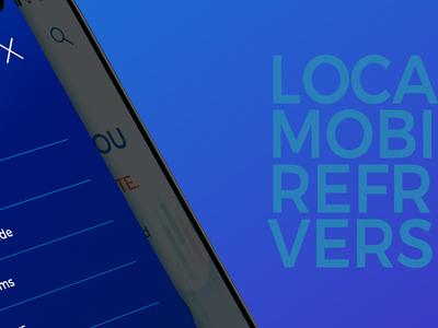 Localbitcoins Refresh Concept mobile design mobile design ui