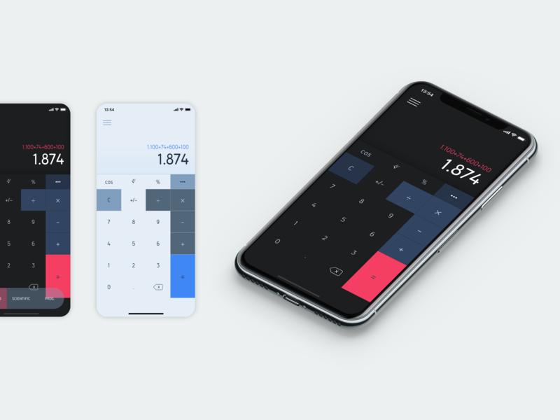 Daily Ui 04 - Calculator dailyui concept application ux app ui design
