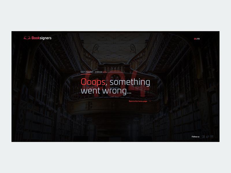 Daily Ui 08 - Error Page dailyui concept ui ux design app