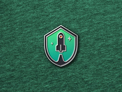 Enamel Pin Badge Mockup