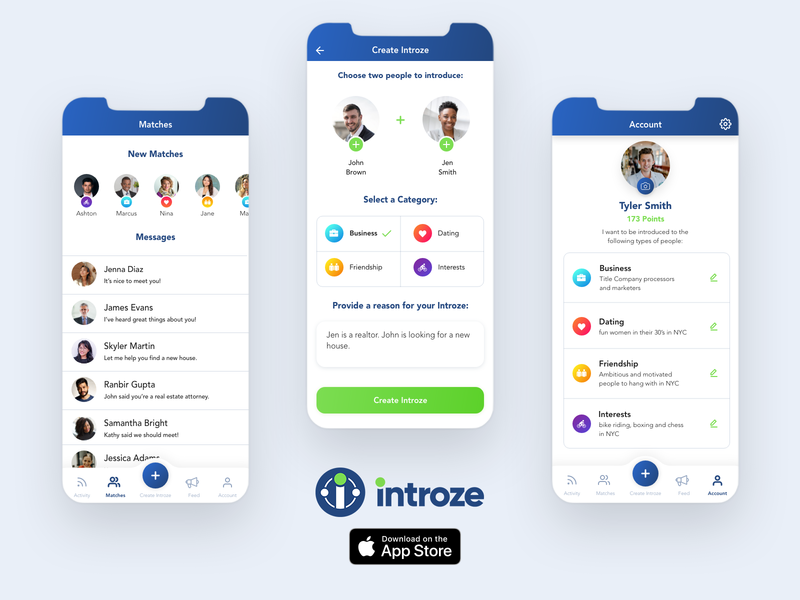 Introze App introze user inteface ux ui ui  ux design iphone app design ui desgin mobile uiux ui  ux mobile app