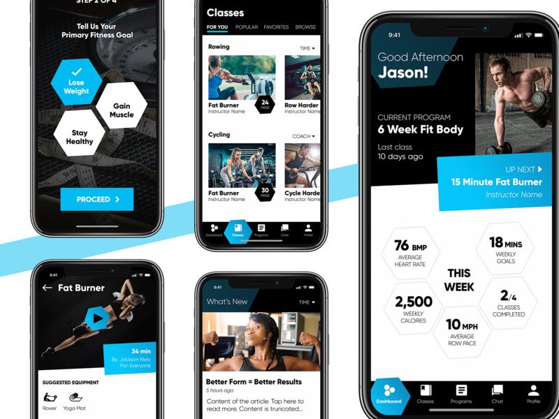 Fitness App Concept fitness app fitness iphone app design user inteface uiuxdesigner iphone app design ux ui ui desgin ui  ux design ui  ux app mobile uiux mobile app