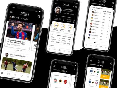 Football Score-keeping App